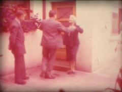 8mm grandmothers traditionnal dance 4 Stock Footage