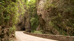 Mountain Road, Italy Stock Footage