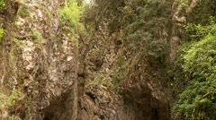 Street in Canyon Stock Footage