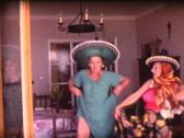 Stock Video Footage of 8mm grandmothers latin dance 8