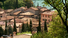 Village in Italy Stock Footage