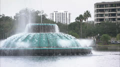 Fountain in Orlando Florida HD Video - stock footage