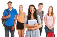 teens: - stock photo