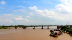bridge, Asia Stock Footage