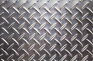 Stock Photo of background texture of metal diamond plate.