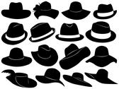 Stock Illustration of Hats Illustration