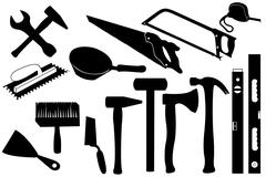 Hand Tools Stock Illustration