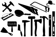 Stock Illustration of Hand Tools