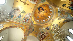 Greek Church Stock Footage