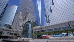One World Trade Center in New York City Stock Footage