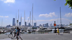 Harbor in NYC Stock Footage