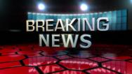 Stock Video Footage of Breaking News Animation