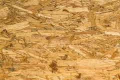 Particle Wood Texture and Background, Closeup - stock photo