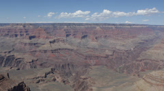 Aerials Grand Canyon South Rim Famous American National Park Amazing Red Rocks Stock Footage