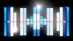 Sound graphic equalizer 6 Stock Footage