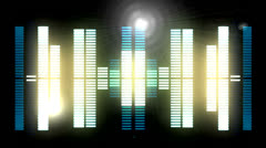 Sound graphic equalizer 7 Stock Footage