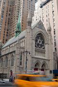 Stock Photo of Holy trinity lutheran church, New York City