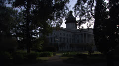 State Capitol Building in Columbia South Carolina HD Video Stock Footage