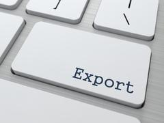 Export Concept. Stock Illustration