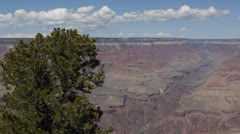 Beautiful View of Grand Canyon, South Rim, Mather Point, Yavapai, Arizona, USA Stock Footage