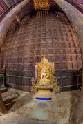 Bagaya Kyaung, Burma - stock photo