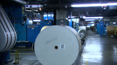 Newspaper Factory In Chicago HD Video Stock Footage