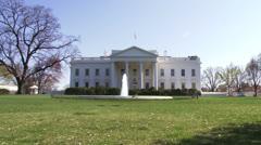 White House, Washington DC - stock footage