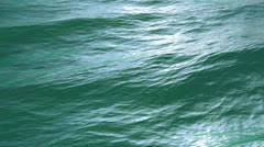 high-detailed, realistic areal view of Ocean Surface, seamless loop - stock footage