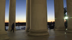 Jefferson Memorial, Washington DC Stock Footage
