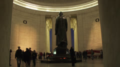Thomas Jefferson Memorial, Washington DC Stock Footage