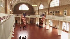 Ellis Island Museum, New York City Stock Footage