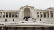 Stock Video Footage of Amphitheater at Arlington National Cemetery