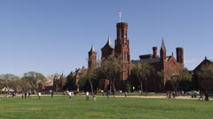 Smithsonian Institution, Washington DC Stock Footage