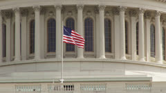 Capitol Building, Washington DC Stock Footage