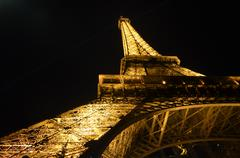 Eiffel Tower 1 - stock photo