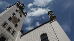 Architecture in Munich, Germany Stock Footage