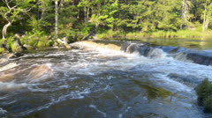 Forest Waterfall Stock Footage