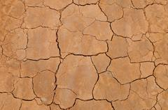 Top view shot of cracked soil Stock Photos