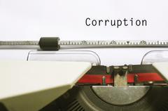 Corruption Stock Photos