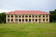 pang-pa-in palace in thailand - stock photo