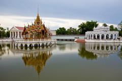 Pang-pa-in palace Stock Photos