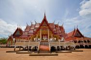 Stock Photo of temple in thailand