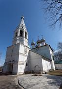 church of st. john the divine in ipatyevskaya settlement - stock photo
