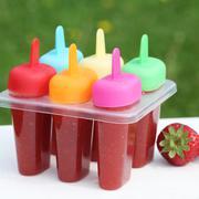 homemade ice lolly - stock photo