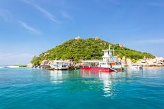 Nangyuan islands,tropical islands, that archipelago, thailand Stock Photos