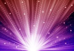 abstract stars light color background - stock illustration