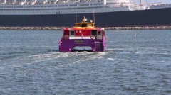 Water Taxi Stock Footage