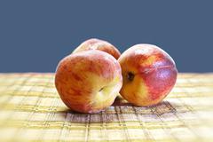 Stock Photo of peaches