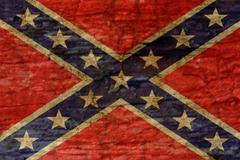 confederate flag background - stock photo