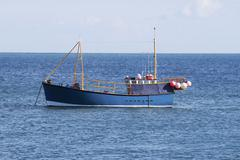 Fishing boat at selsey. sussex. england Stock Photos